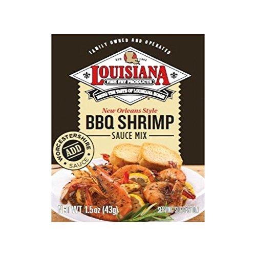 (Louisiana Fish Fry BBQ Shrimp Sauce Mix, 1.5 oz (3 Pack) )