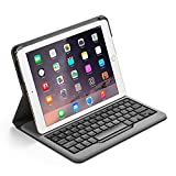 Anker® Bluetooth Folio Keyboard Case for iPad Air 2 - Smart Case with Auto Sleep / Wake, Comfortable Keys and 6-Month Battery Life Between Charges
