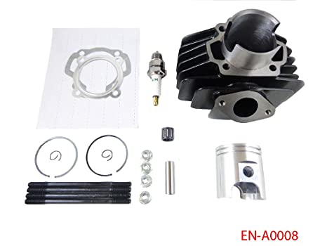 Amazon com: Big Bore Kit 60cc Cylinder Piston Kit for Yamaha PW50 PW
