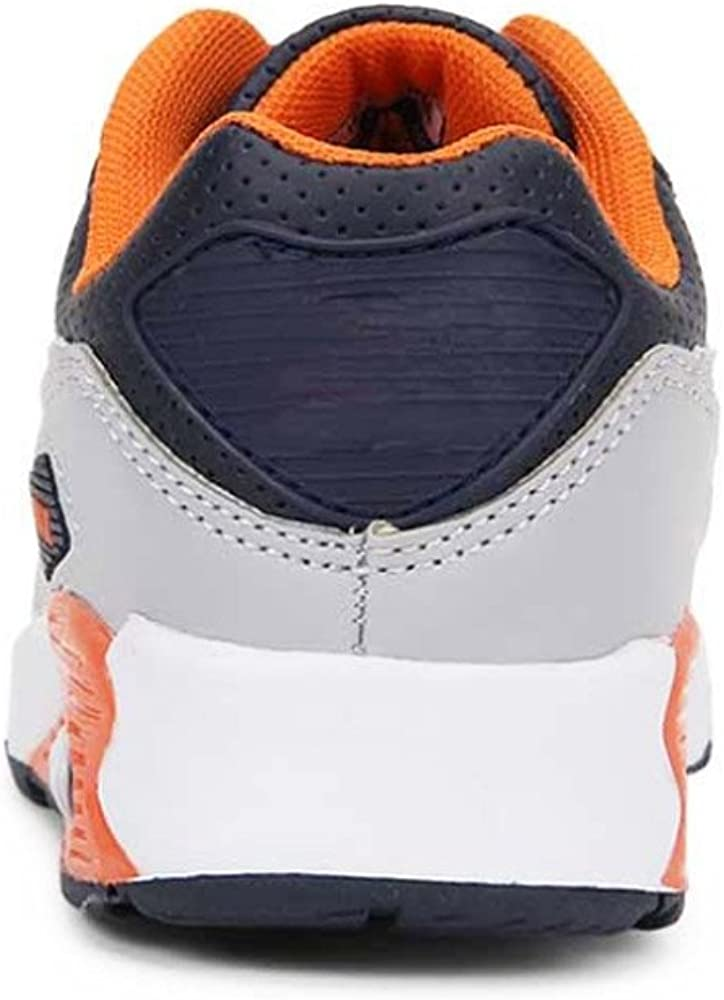 13 M US Little Kid, Navy//Orange Daclay Kids Breathable Sports Shoes Boys and Girls Sneakers Casual Soft Soled Basketball Running Shoes