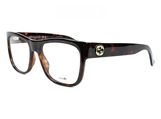 6940a5fffaf Image Unavailable. Image not available for. Color  Optical frame Gucci  Optyl Dark Havana - Gold ...
