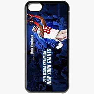 Personalized Case For Iphone 4/4S Cover Cell phone Skin 817 new york giants Black