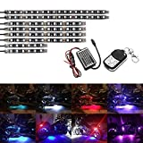 AMBOTHER 8Pcs Motorcycle LED Light Kits DC 12-volt