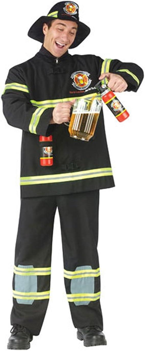 Fire Fighter Child Girls Costume Uniforms Fireman Fancy Dress Halloween Funworld