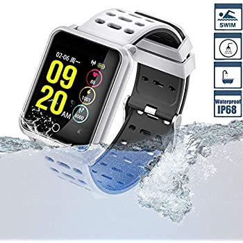 TagoBee Smart Watch TB06 IP68 Fitness Tracker for Swimming Bluetooth Waterproof Activity Tracker Smart Bracelet for