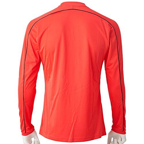 Hombre Ref16 Ls Rojo Adidas Camiseta Jsy Negro rojimp Para X6xwdx