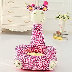 Kids Mini Lounger Sofa,Bean Bag Chair,Novelty Gift Giraffe PP Cotton Cute  Cartoon