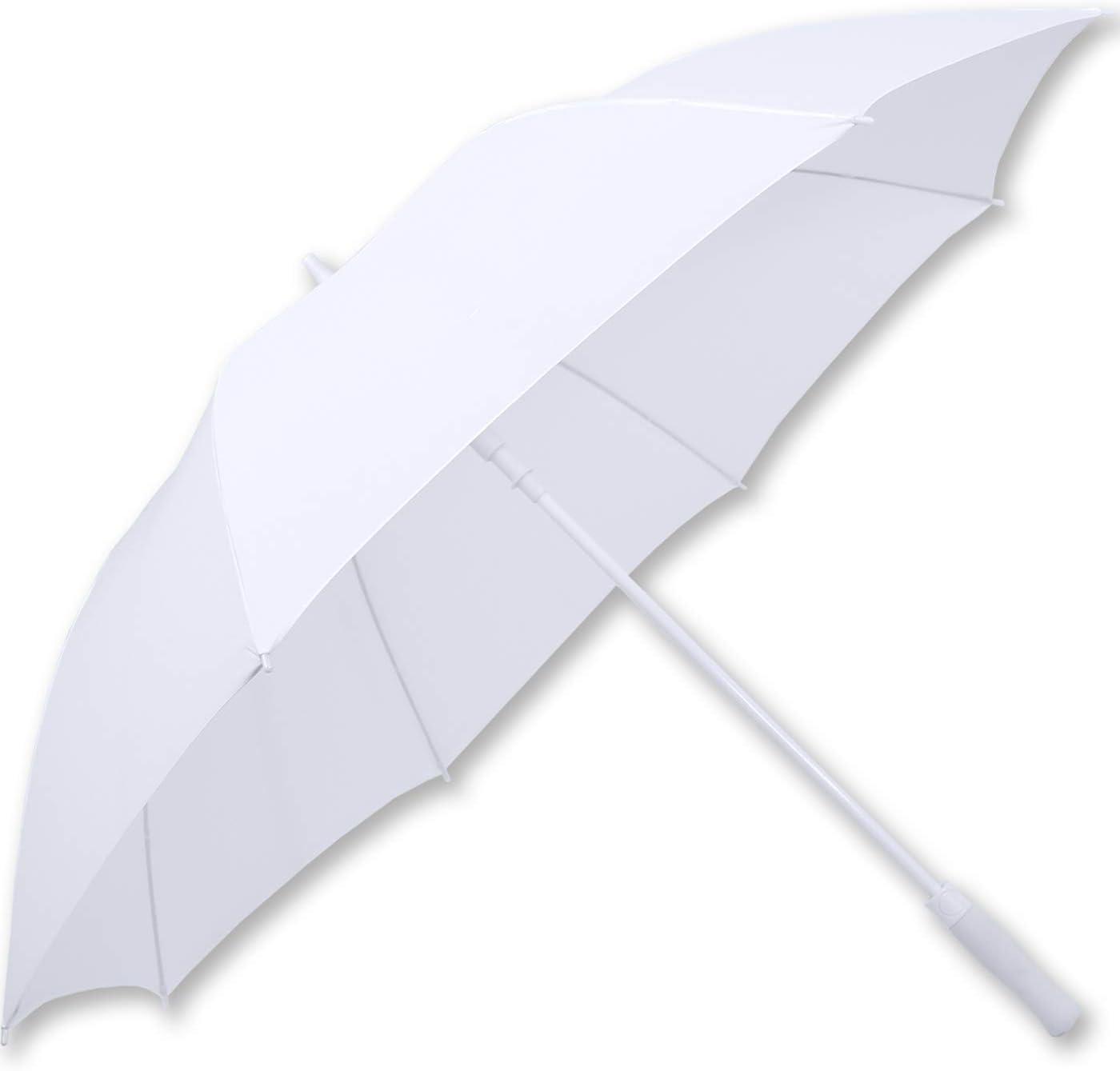 Ombrellone da sposa misura XXL automatico iX-brella colore: Bianco
