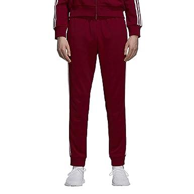 3071b2a95 adidas Men's Originals SST Track Pants Collegiate Burgundy du1348 (Size ...