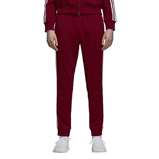 1474f364f adidas Men's Originals SST Track Pants Collegiate Burgundy du1348 at Amazon  Men's Clothing store: