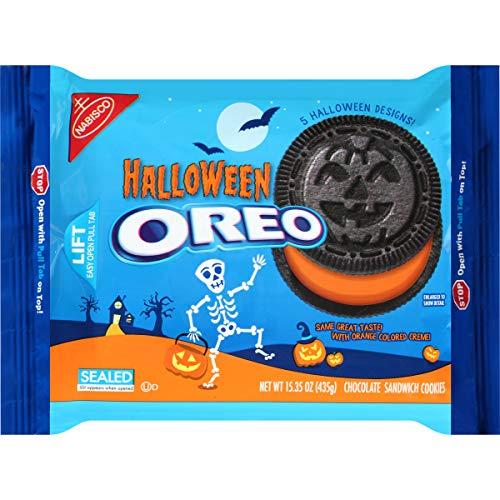 Oreo Chocolate Sandwich Cookies, Halloween, 15.25 Ounce (Pack of -