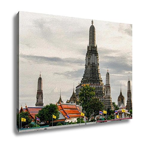 Ashley Canvas Bangkok Thailand Skyline View Wall Art Decoration Picture Painting Photo Photograph Poster Artworks, 20x25 by Ashley Canvas