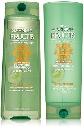 Garnier Fructis Sleek & Shine Zero Conditioner 12 FL OZ