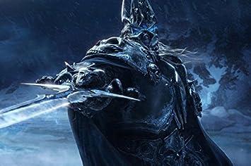 Amazon.com: Monstruo Rey Exánime CGI Cartel de película tela ...