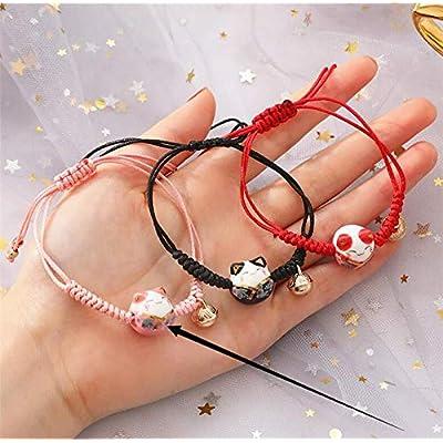 Lucky Cat Bracelet Money Cat Gift Bag Maneki Neko Cat Bracelet Maneki Neko Charm Good Fortune Cat Good Luck Bracelet
