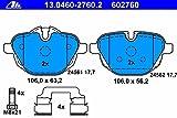 ATE GERMANY BRAKE PADS REAR BMW 5 F10. F11. F18). X3 F25). Z4 E892.0-3.0D 03.10- 34216788284