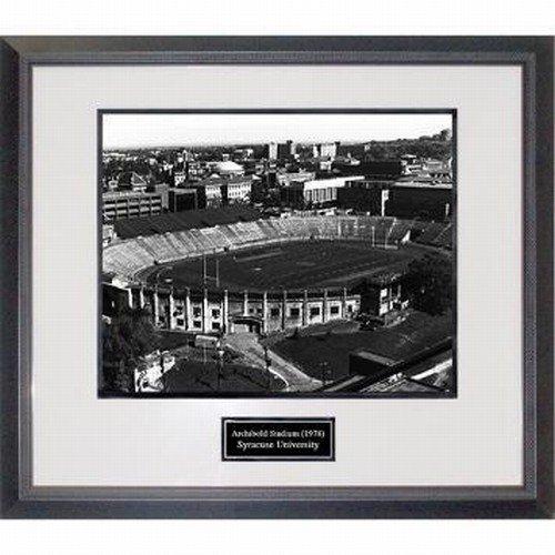 Syracuse University Archbold Stadium 1978 Framed 16x20 Photograph by Biggsports