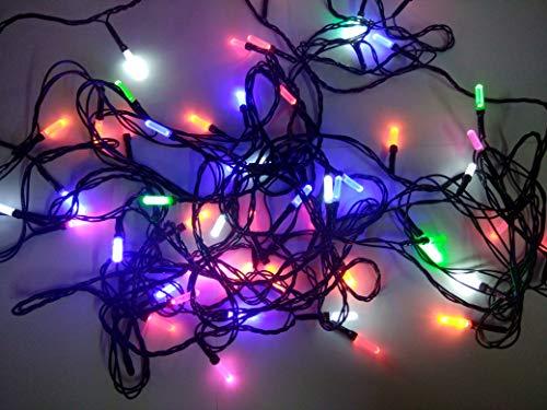 Dwarakesh Enterprises™ Led serial set fiber optic shape bulb Lights with Remote for Diwali, Christmas, Party,Home…
