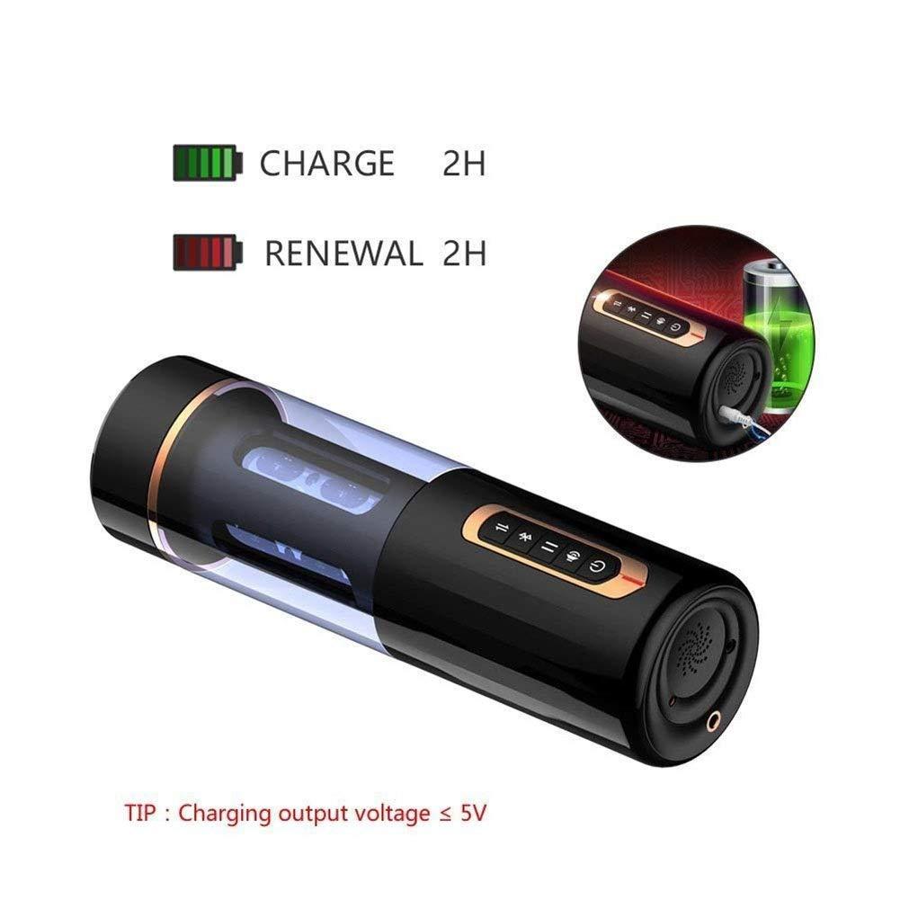 メンズ自動カップマルチ振動モードディープ電気リラクゼーションマッサージは男性のための最高の贈り物です B07SRL5G3V