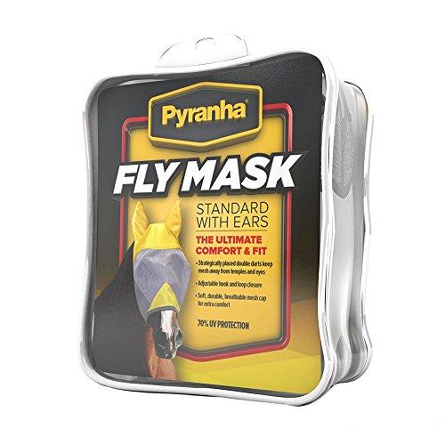 Pyranha Fly Mask w/Ears Horse (Pyranha Fly Control)