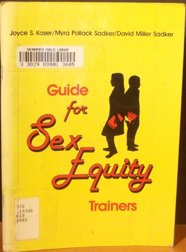 Guide for sex equity trainers