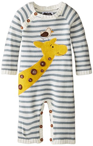 Mud Pie Baby-Boys Giraffe Coverall