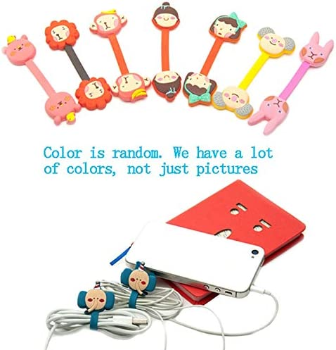 Solid Color Cable Winder Kawaii Earphone Protector USB Cable Line Organizer