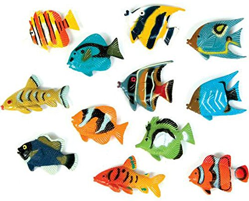 DDI 1909622 Tropical Fish Figurines