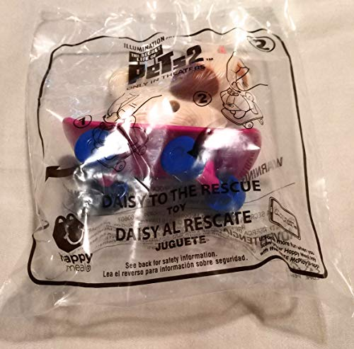 McDonald's 2019 Secret Life of Pets 2 Daisy to The Rescue #2 Toy