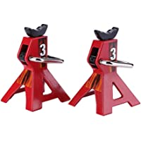 Axle Stands Mini Car Jacks Vehicle Stand Lift Adjustable Car Support Holding Stands for 1/10 RC Crawler Car, 2pcs
