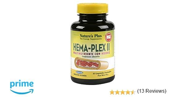 Natures Plus Hema-Plex II - 60 Comprimidos