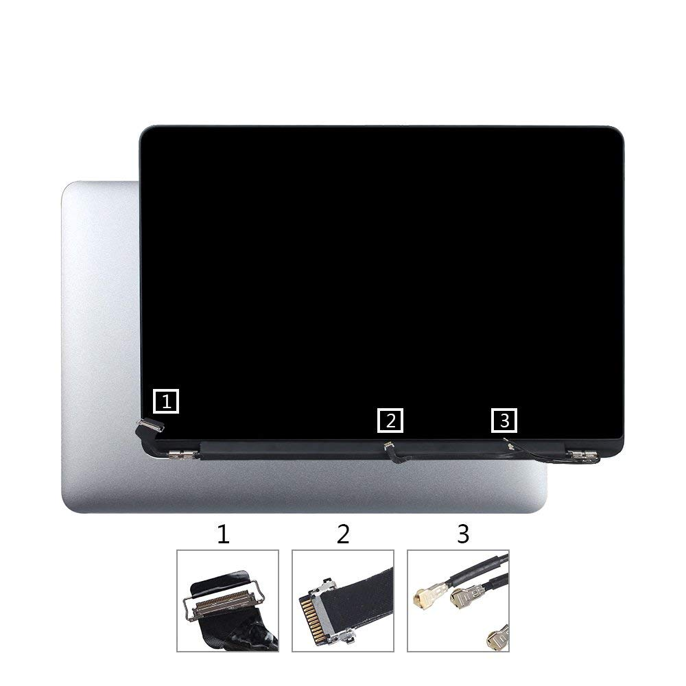 LA-Tronics Repair Part 661-02360 LCD Screen Display Assembly Replacement for MacBook Pro 13'' Retina A1502 Early 2015