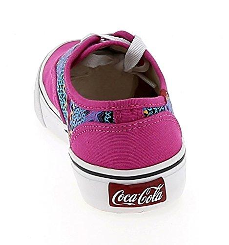Coca Cola Damen Sneakers CCA0713 KICK ETNIC PINK Multicolor
