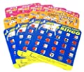 Travel Auto Bingo Roadtrip Game Pack of Four Cards