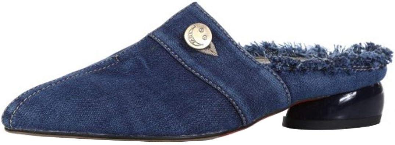 Zanpa Women Summer Mules Sandals