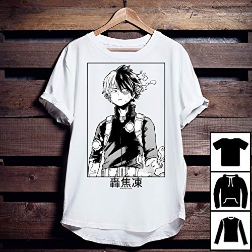 Todoroki Shoto My Hero Academia T Shirt Long Sweatshirt Hoodie