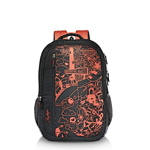 Skybags Nash 05 31 Ltrs Black Casual Backpack