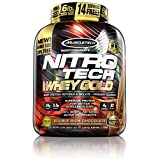 MuscleTech Nitro Tech 100% Whey Gold Muscle Building Powder, Chocolate, 6 Pound