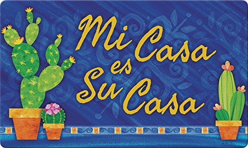 "Toland Home Garden 800448 Spanish House Doormat, 18"" x 30"", Multicolor from Toland Home Garden"