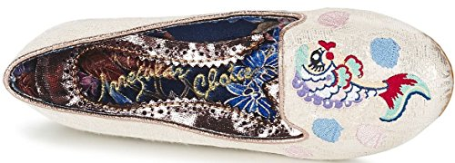 Irregular Choice Kissy Fishy Or Multi Femmes Chaussures