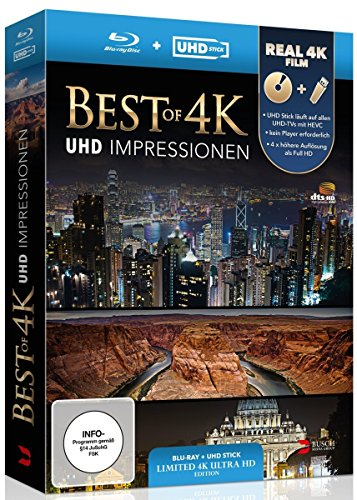 BEST OF 4K - UHD Impressionen (UHD STICK und Blu-ray in REAL 4K) [Blu-ray] [Limited Edition]