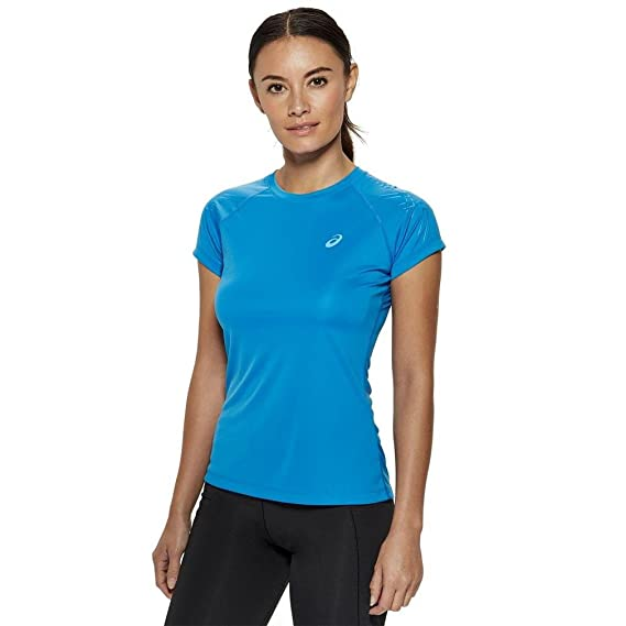 Asics Stripe Women's Running T-Shirt - AW16 - X Small