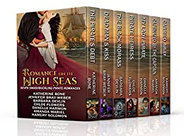 Romance on the High Seas: Seven Swashbuckling Pirate Romances by [Wenches, Seven Pirate, Flowers, Chloe, Devlin, Barbara, Bone, Katherine, Harmon, Danelle, Bray-Weber, Jennifer, Mariel, Amanda, Solomon, Kamery]