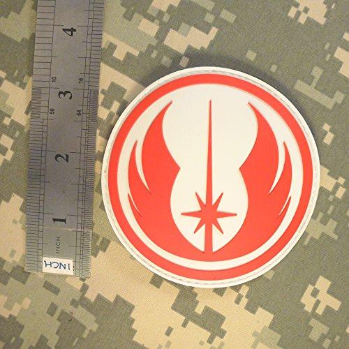 Touch Order parche cierre 3D Rubber 2after1 Wars de Pvc Knight Star Jedi IAnFx1wqR8