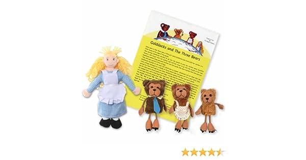 The Puppet Company Ricitos de Oro y los Tres Osos títeres Dedo ...