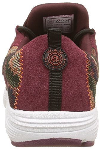 Lyon Rosso WAU Basse Donna Sneaker Burgundy xFSP6R0