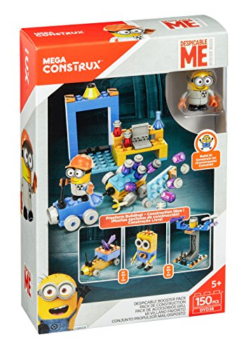 Mega Construx Despicable Me Minons Free Form Building Set]()