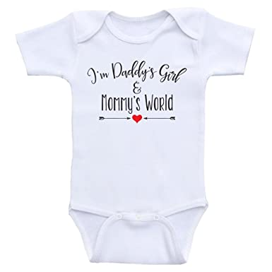 Amazon Com Heart Co Designs Cute Baby Girl Clothes Daddy S Girl And