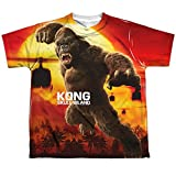 Sublimation Youth: King Kong Skull Island - Kong Attacks All Over Print T-Shirt offers