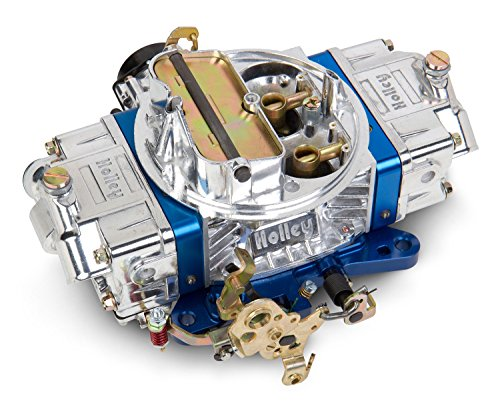 Holley 0-76650BL 650 CFM Ultra Double Pumper Four Barrel Street/Strip Carburetor - Blue
